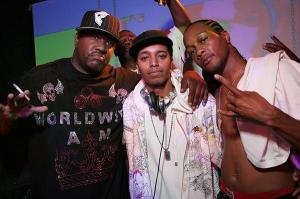 Dj Rampage, Quik and AMG