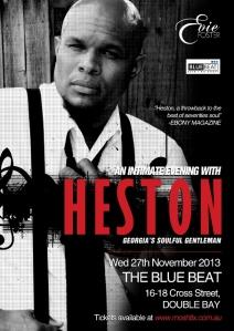 Heston Poster