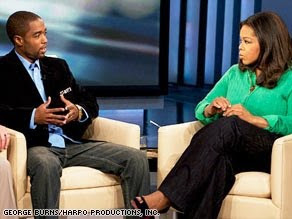 Tony Gaskins and Oprah
