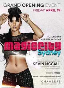 Magic City Sydney Flyer