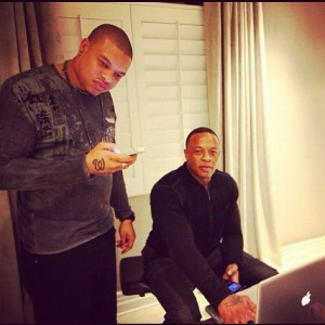 Curtis Young and Dr Dre 2