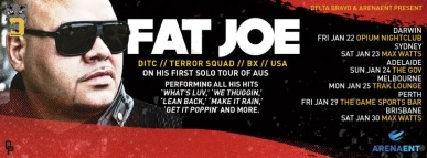 fat Joe tour