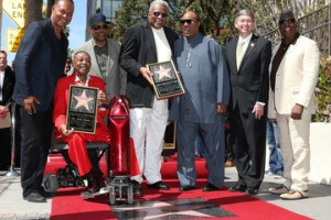 Mickey and Stevie walk of fame
